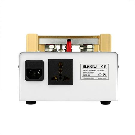 دستگاه جدا کننده LCD خلاء BK-946D برای تعمیر آیفون و سایر تلفن های همراه هوشمند با اندازه صفحه نمایش تا 7 اینچ است.